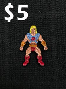 Battle Tribes Adventurer Pin - Eternal