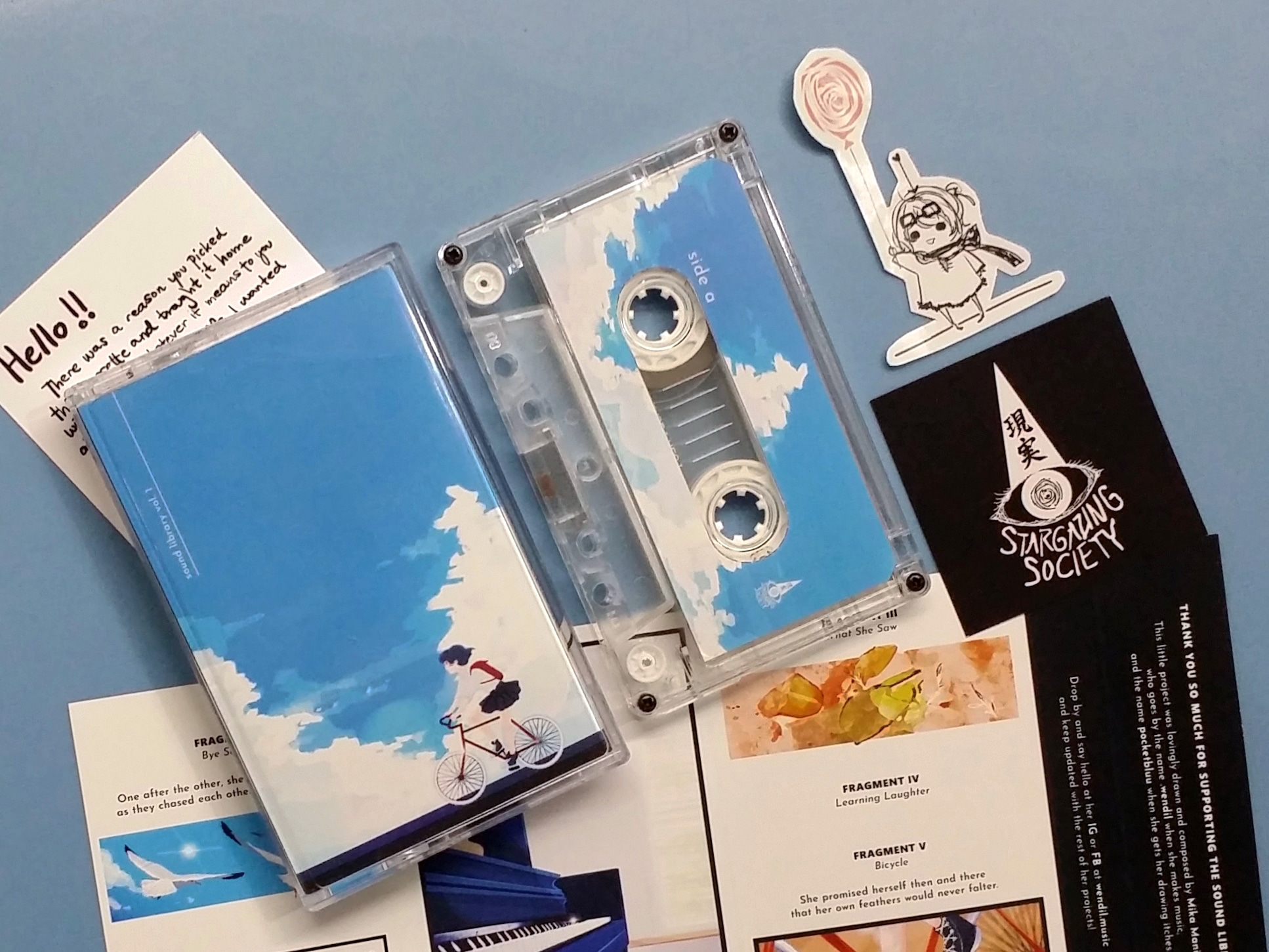 [SOLD] .wendil - Sound Library Vol. 1: Lena and the Seagull (Genjitsu Stargazing Society)