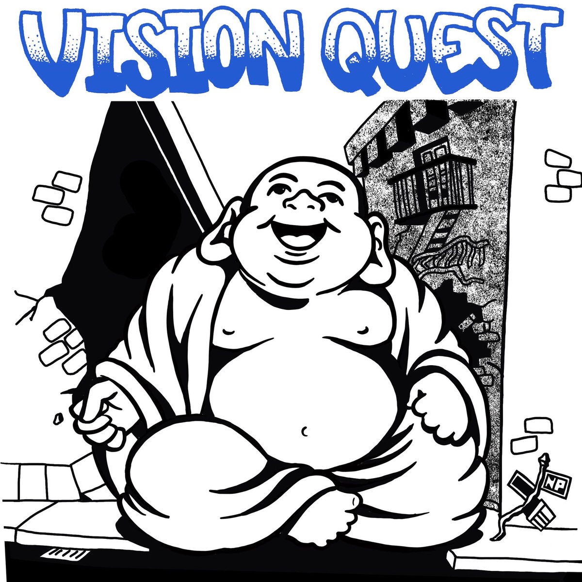 Vision Quest - Still Real b/w Vision Quest 7