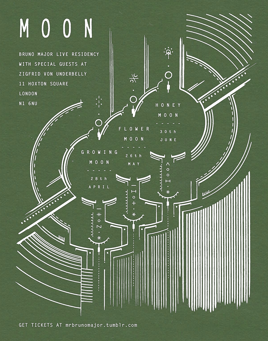Moon Residency Poster