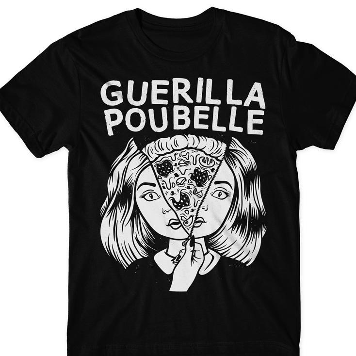 Guerilla Poubelle - TS pizza girl