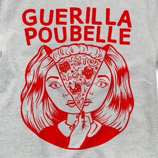 Guerilla Poubelle - Crewneck pizza girl