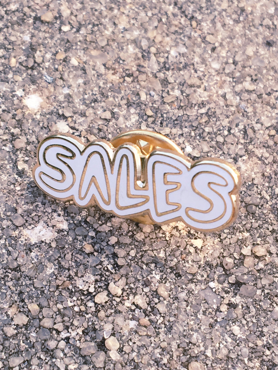 SALES Enamel Pin