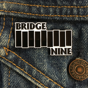Bridge Nine '9 Bars' Enamel Pin