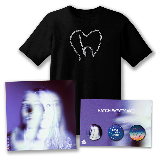 Hatchie Keepsake, T-Shirt, Pin Bundle