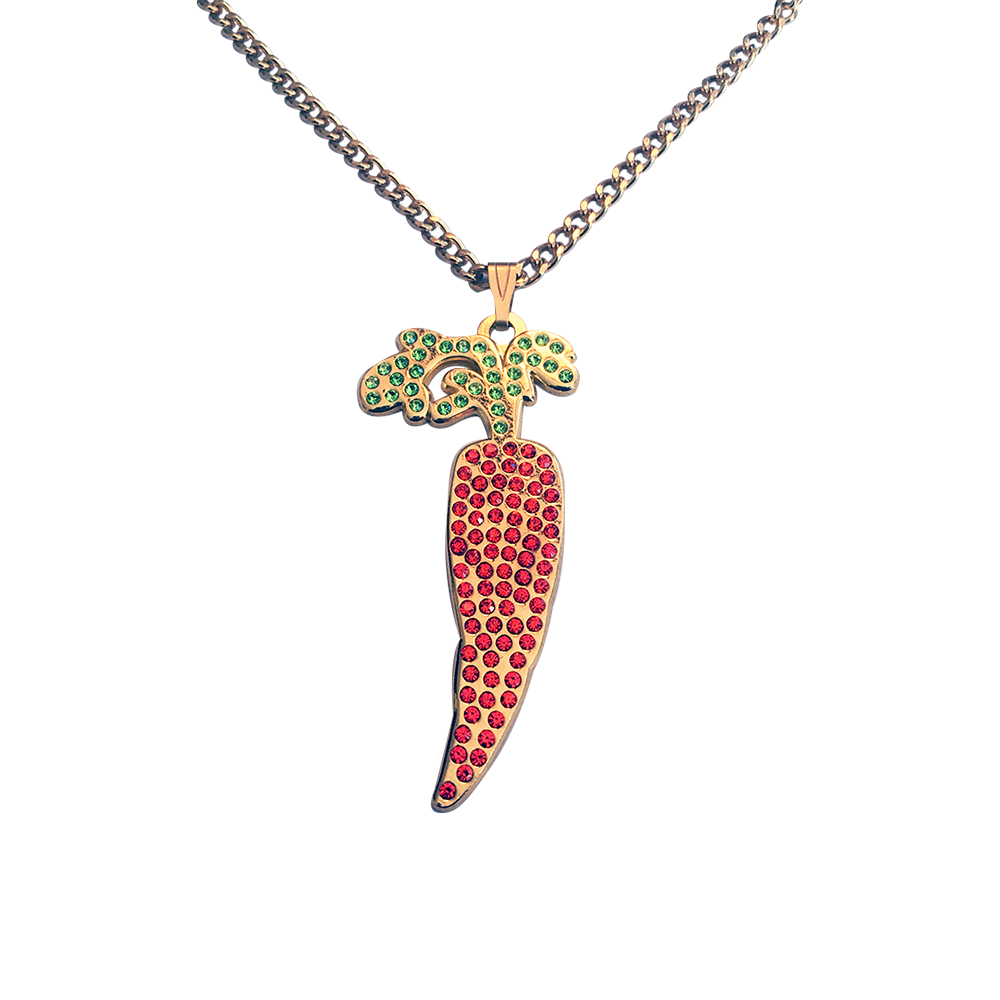 Baby Carrot Necklace