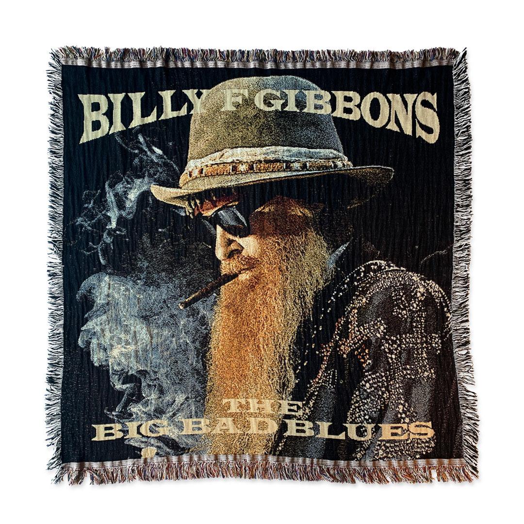 "Big Bad Blues woven blanket (50"" x 50"") + album download (optional)"