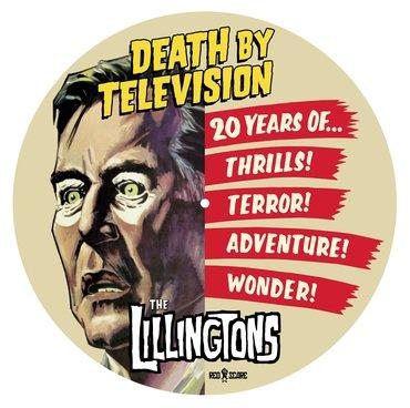 The Lillingtons - Death By Television LP PICTURE DISC