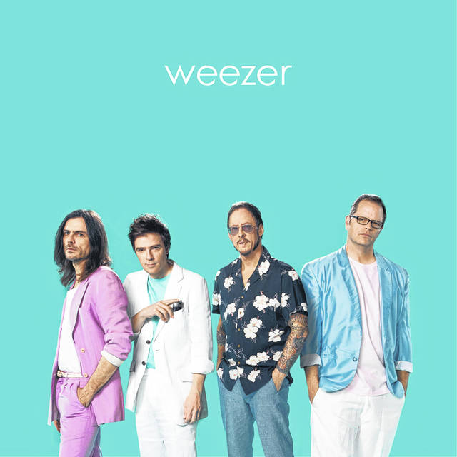 Weezer - Teal LP - SPECIALIST SUBJECT RECORDS