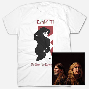Earth - Full Upon Her Burning Lips White T-Shirt Bundle