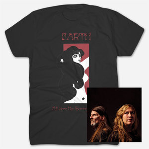 Earth - Full Upon Her Burning Lips Black T-Shirt Bundle