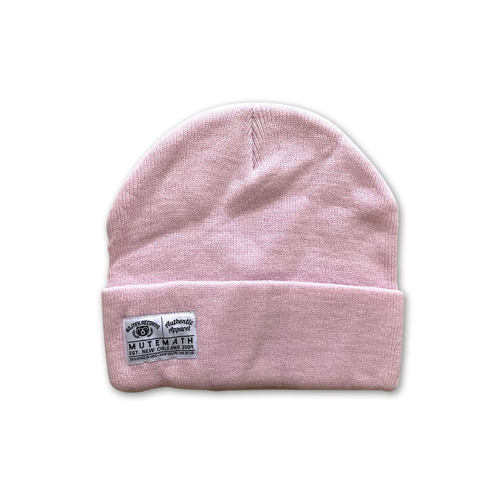 Authentic Beanie (Pink)