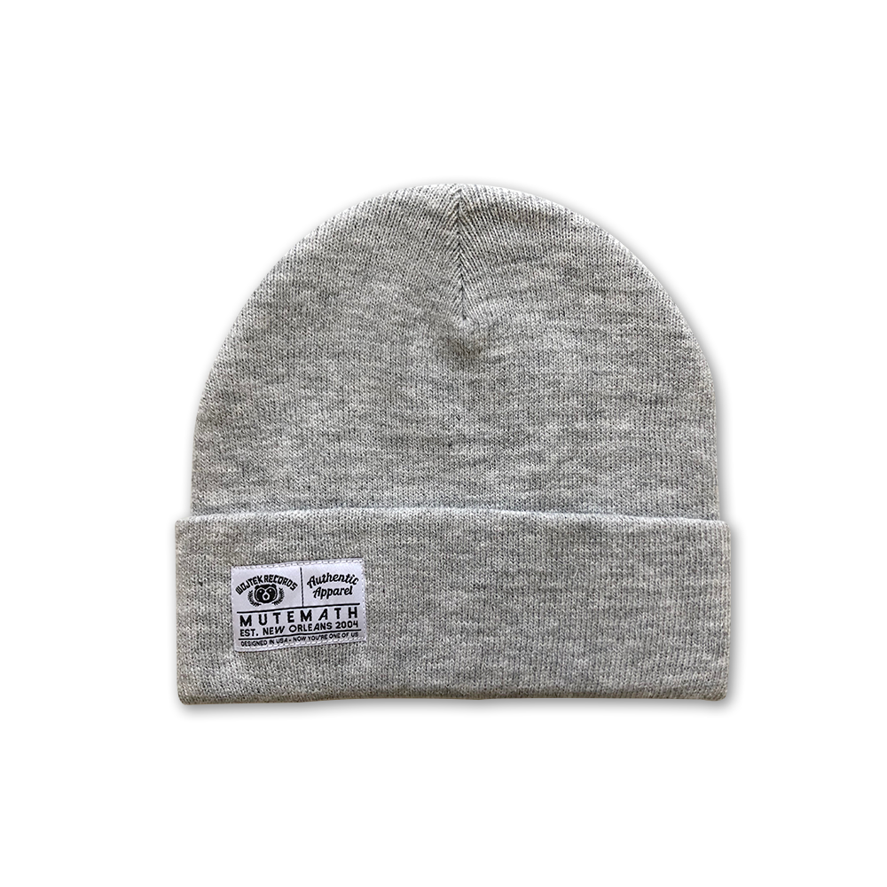 Authentic Beanie (Grey)