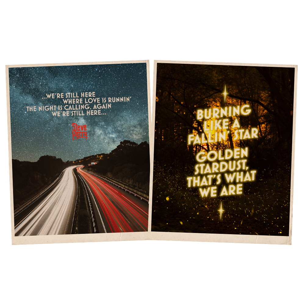 """We're Still Here"" 18""x 24"" Screen Printed Lyric Posters + 15-Track Album Bundle (optional)"
