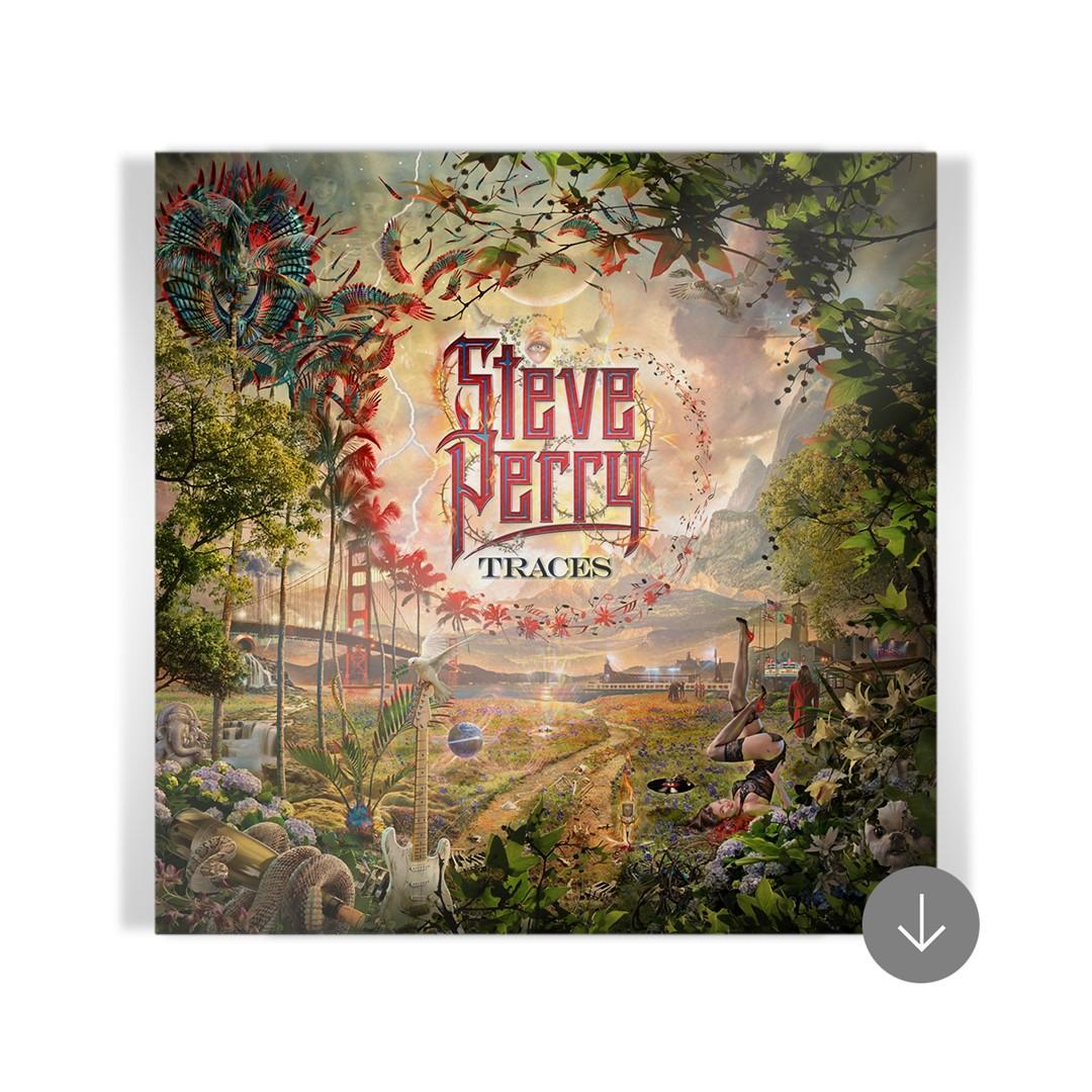 """We're Still Here"" Traces Pillow Case + 15-track Album Bundle (optional)"