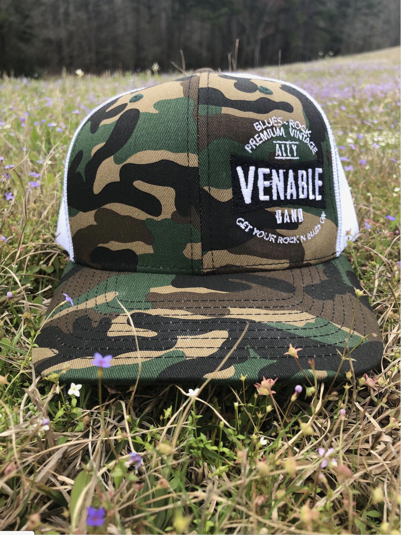 Premium-Vintage Camo Hat