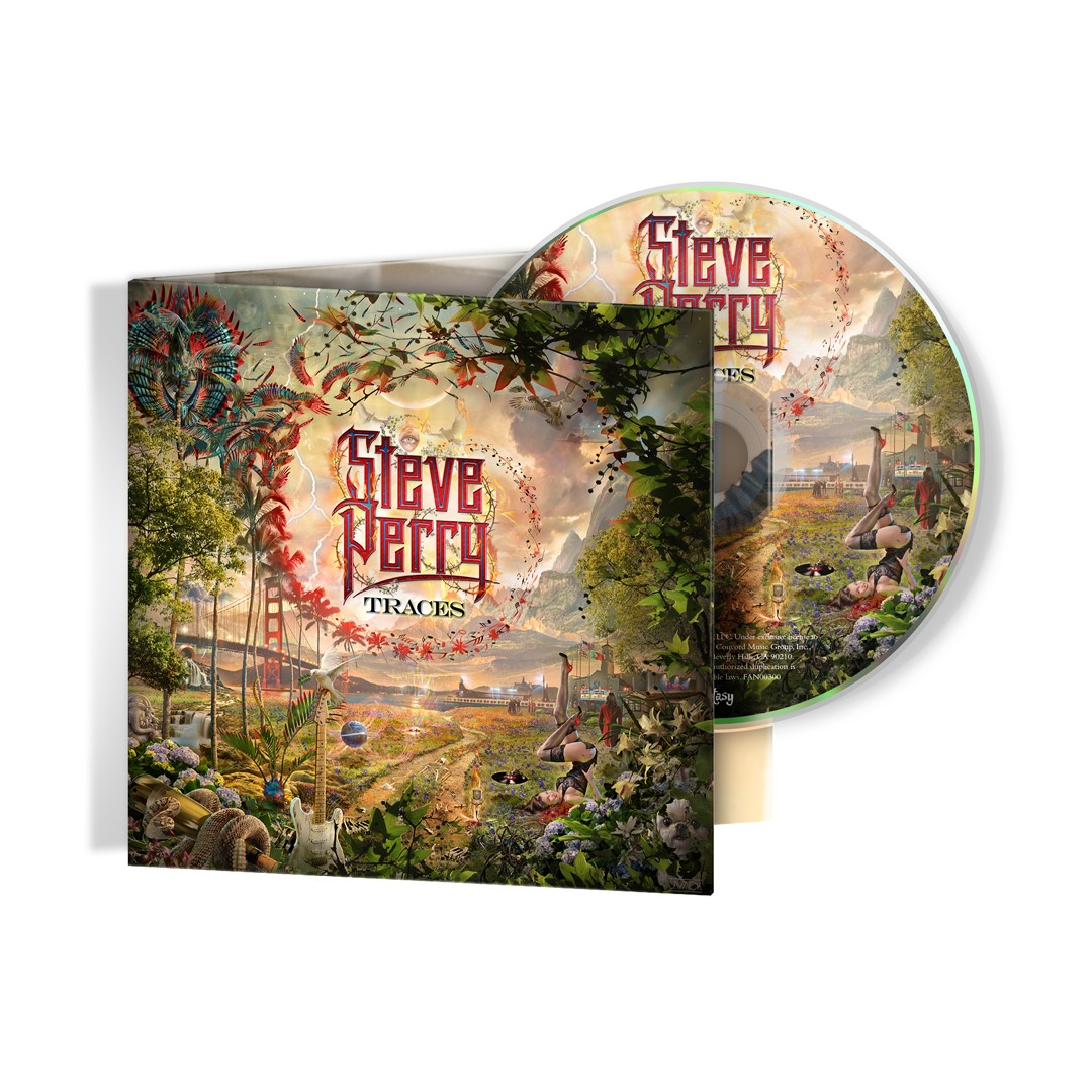 Steve Perry Jumbo Christmas Mug + 15-Track Album Bundle (optional)