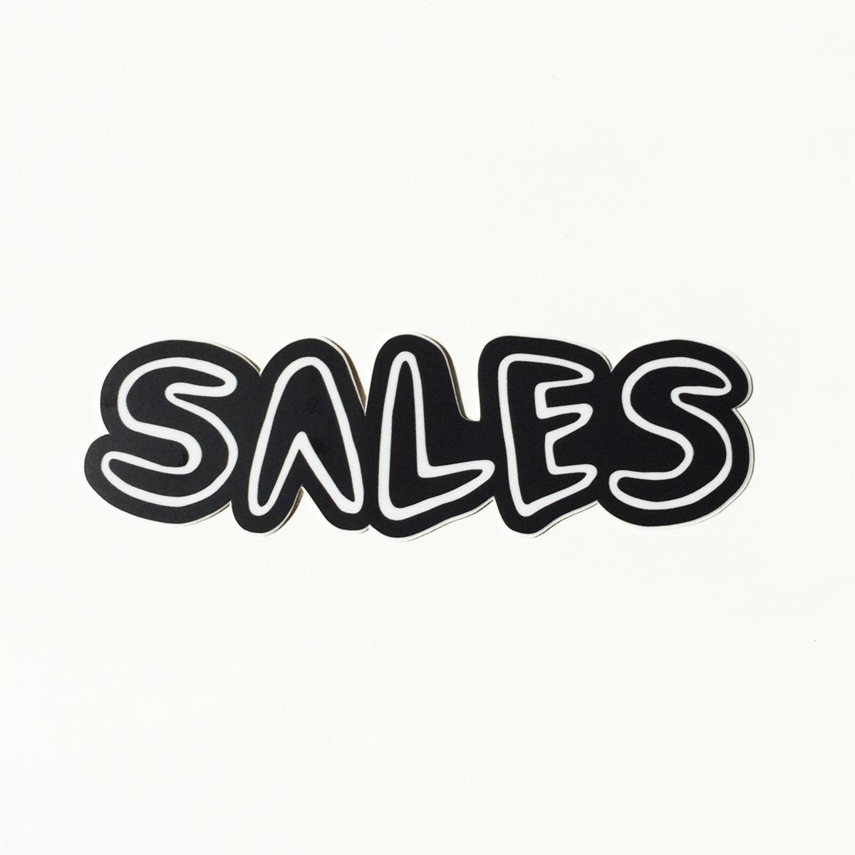 SALES Logo Sticker