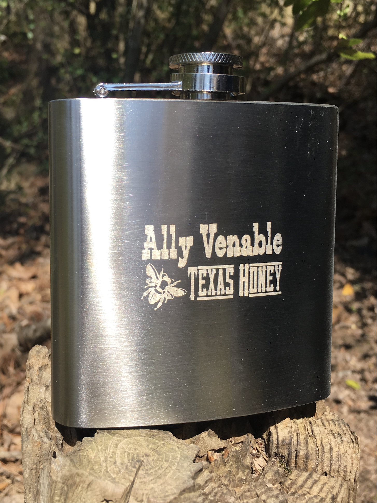 Ally Venable - Texas Honey - Flask