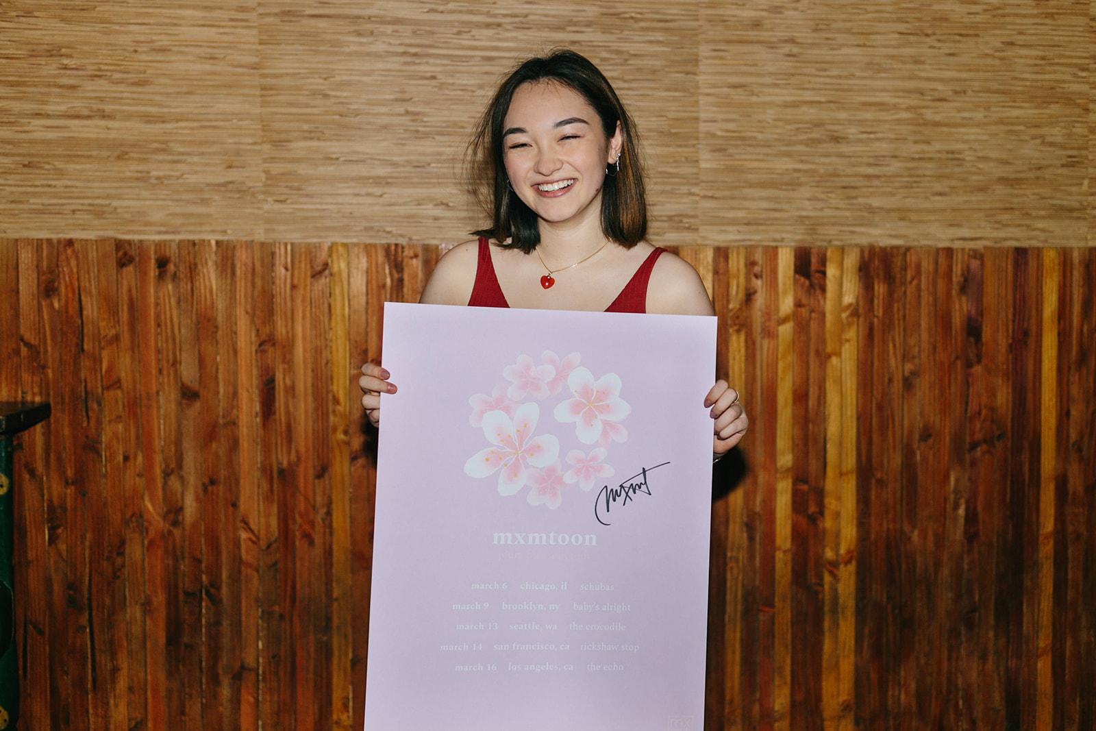 plum blossom tour posters