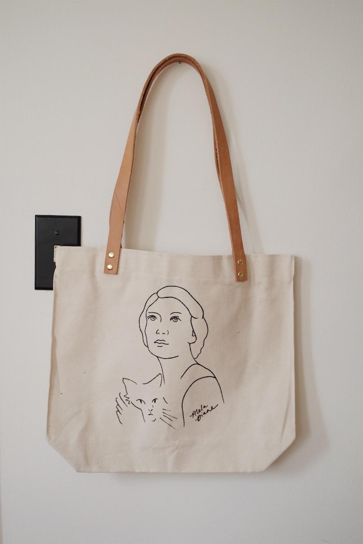 AD Self Portrait Tote Bag
