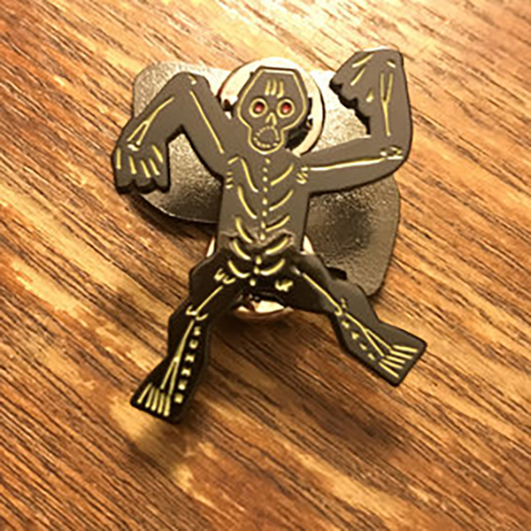 Skeleton Pin