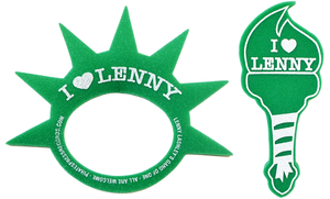 Lenny Lashley's Gang Of One - Foam Crown/Torch Bundle
