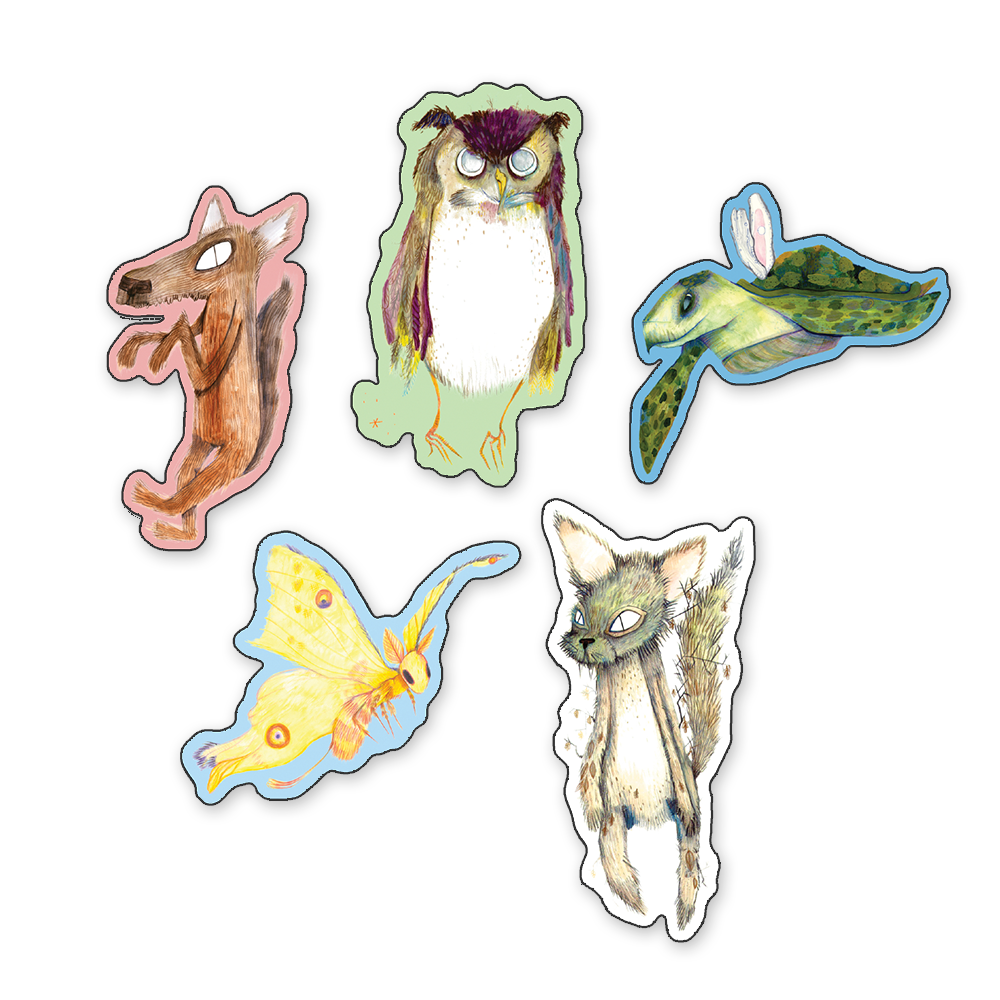 Animal Kingdom Magnet Set