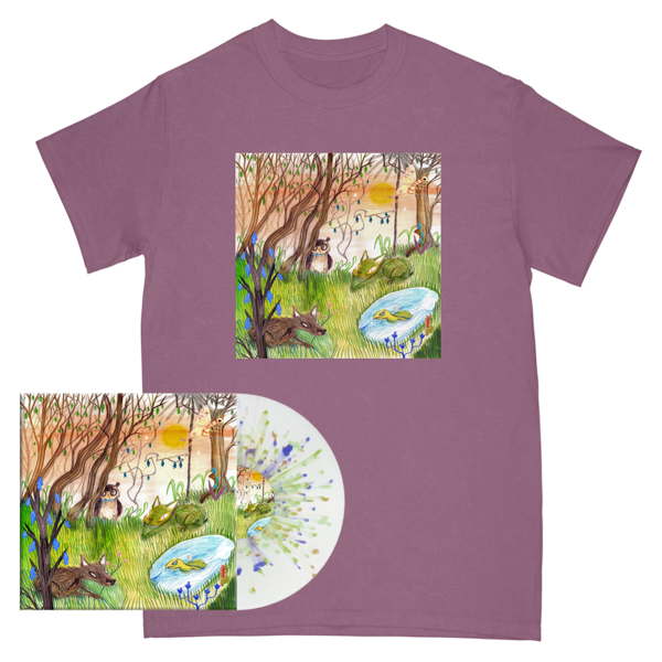 Animal Kingdom Cover Tee + Vinyl