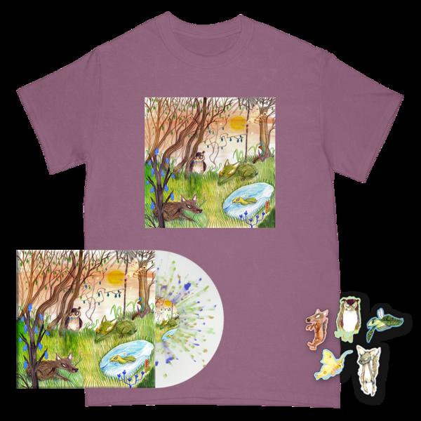 Animal Kingdom Cover Tee + Magnet Set + Vinyl