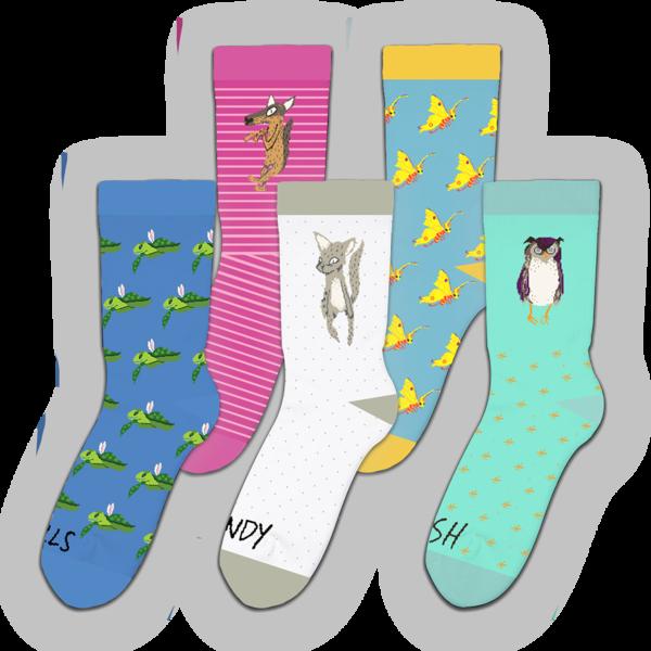 Animal Kingdom Character Socks