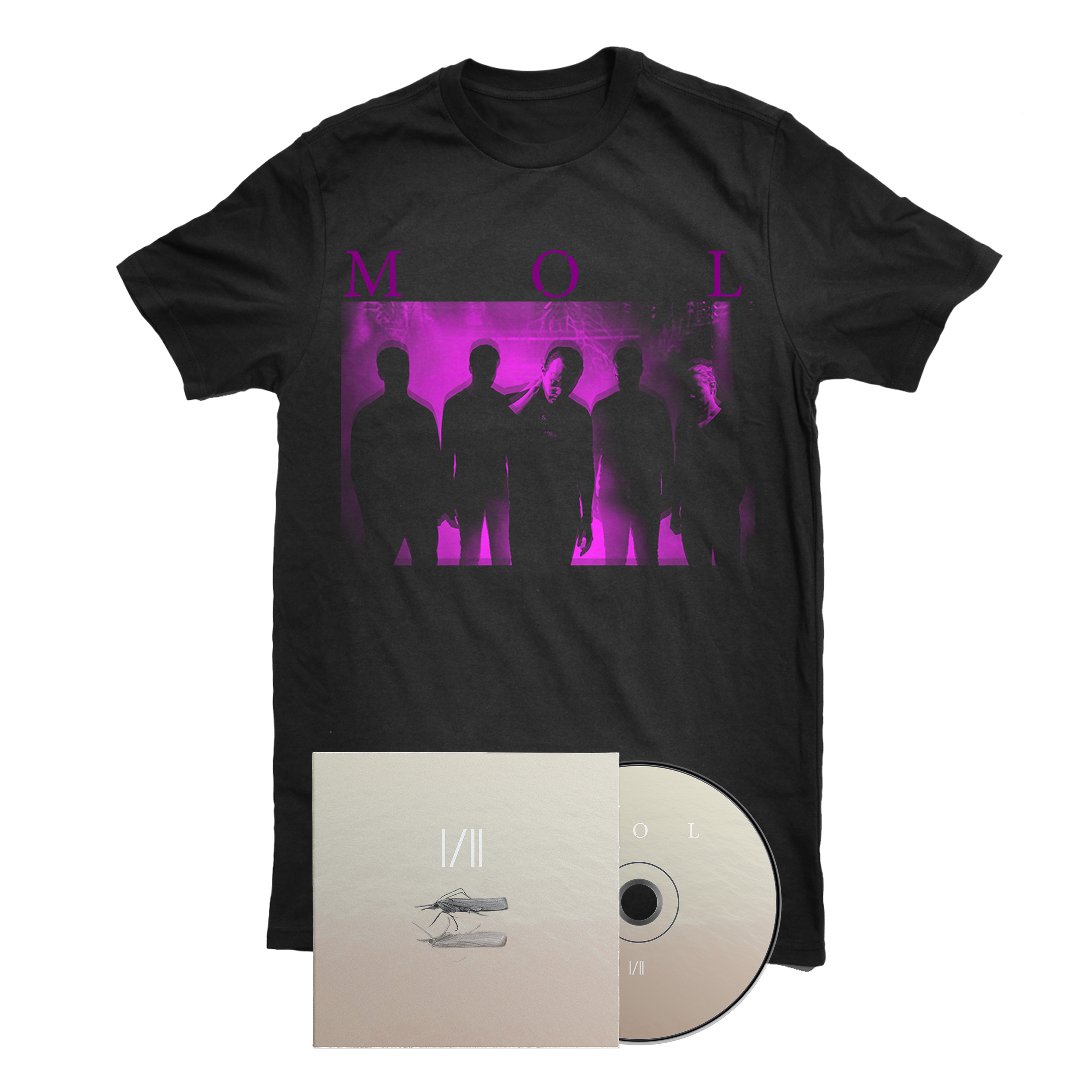 MØL - I/II shirt + CD