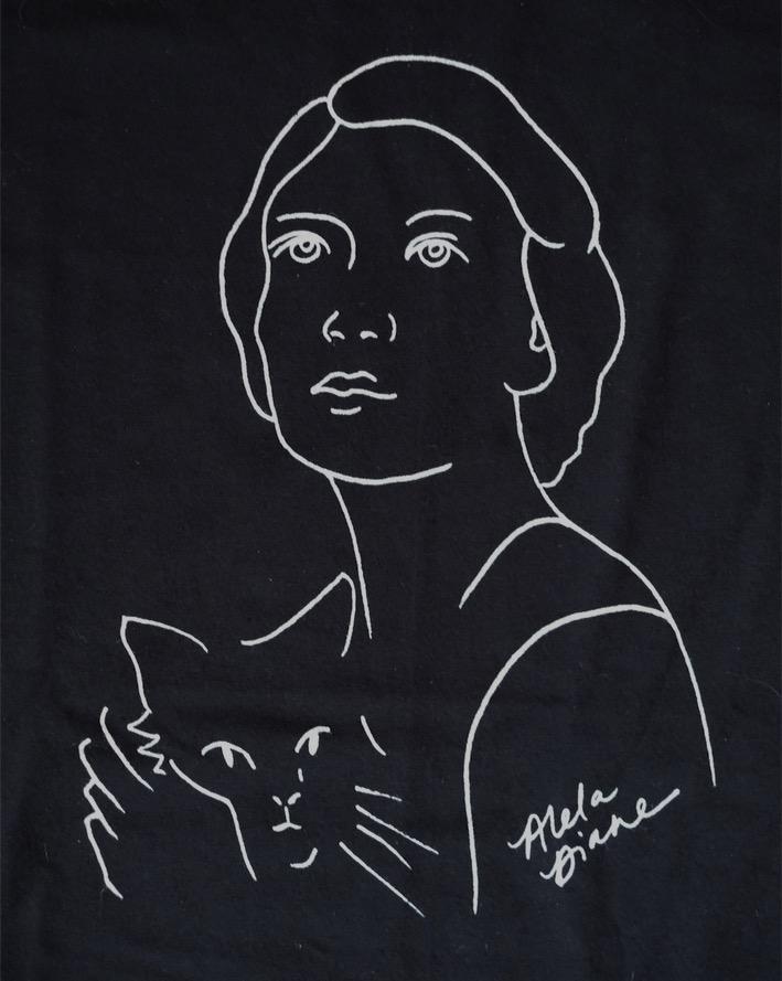 AD Self Portrait T-Shirt - Black, Unisex