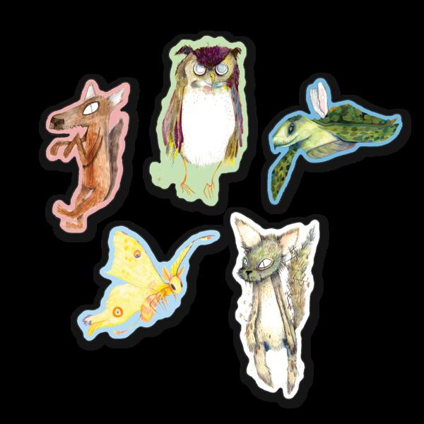 Animal Kingdom Magnet Set