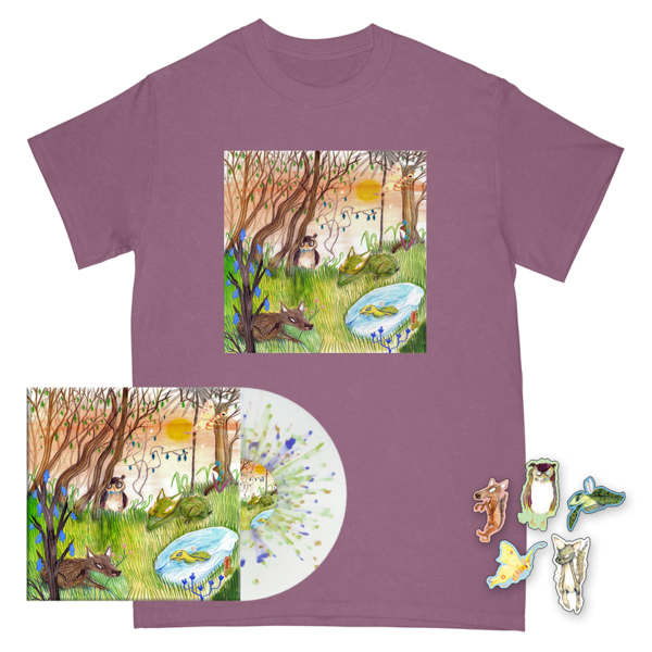 Animal Kingdom Cover Tee + Magnet Set + Vinyl