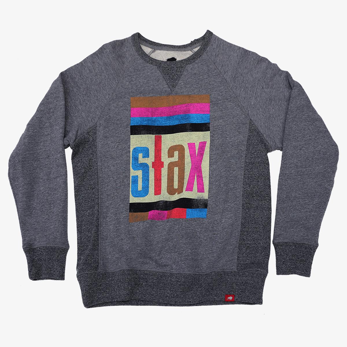 Multi-Colored Stax Logo Sweatshirt
