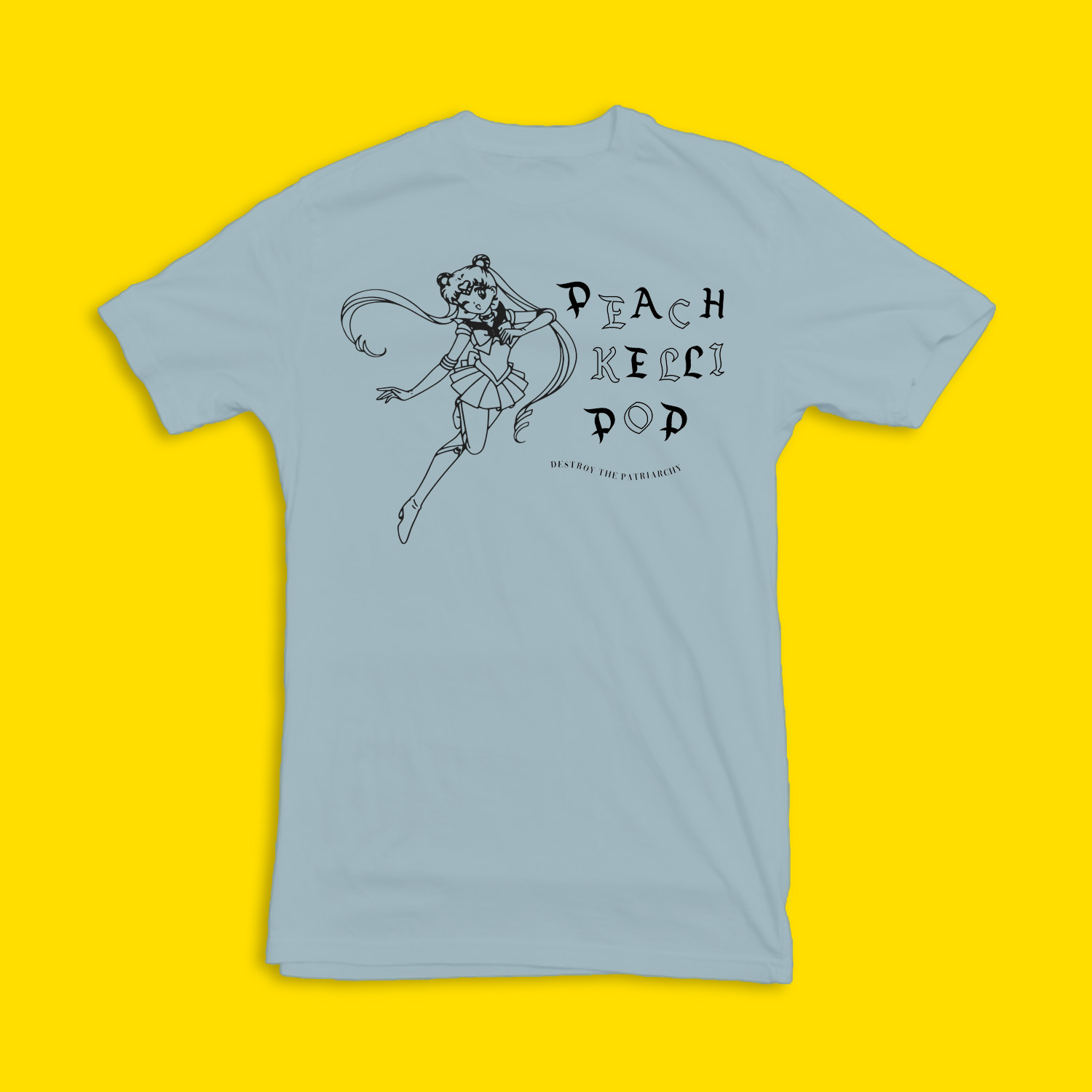 Sailor Moon Shirt (Light Blue)