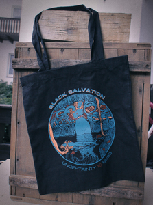 'Uncertainty Is Bliss' Tote bag