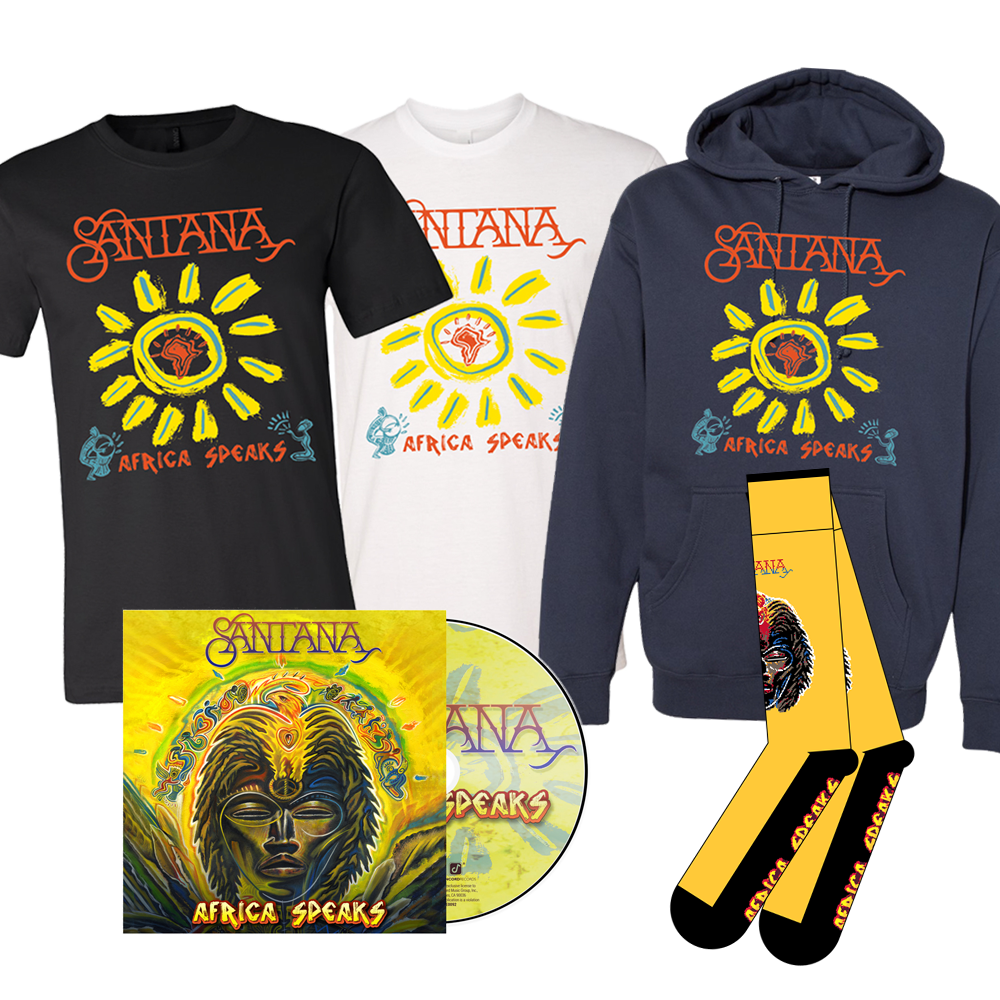 Signed Africa Speaks CD Bundle (250 available)