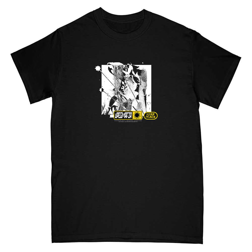 Keep The Peace Tee (black)