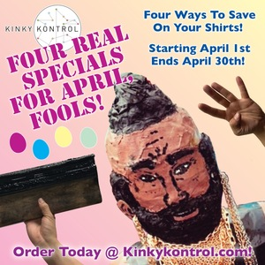 Four Real Specials For April, Fools!