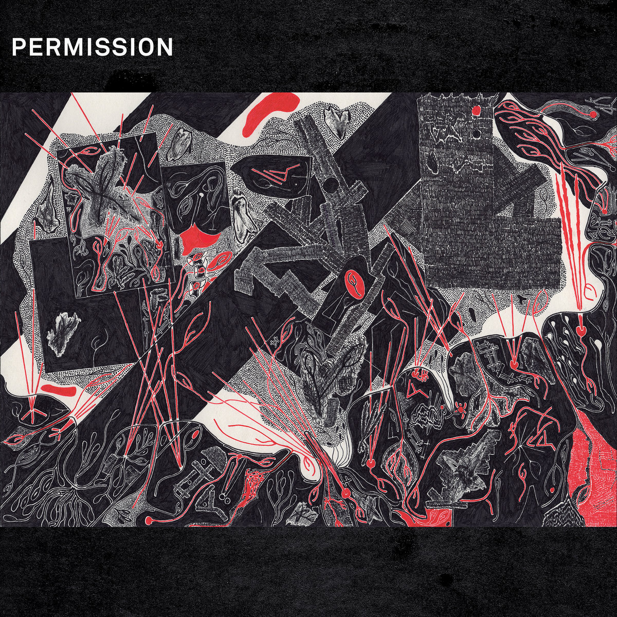 Permission - Drawing Breath Through a Hole In The Ground LP