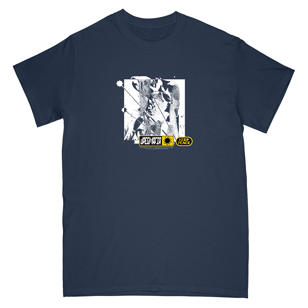 Keep The Peace Tee (navy)