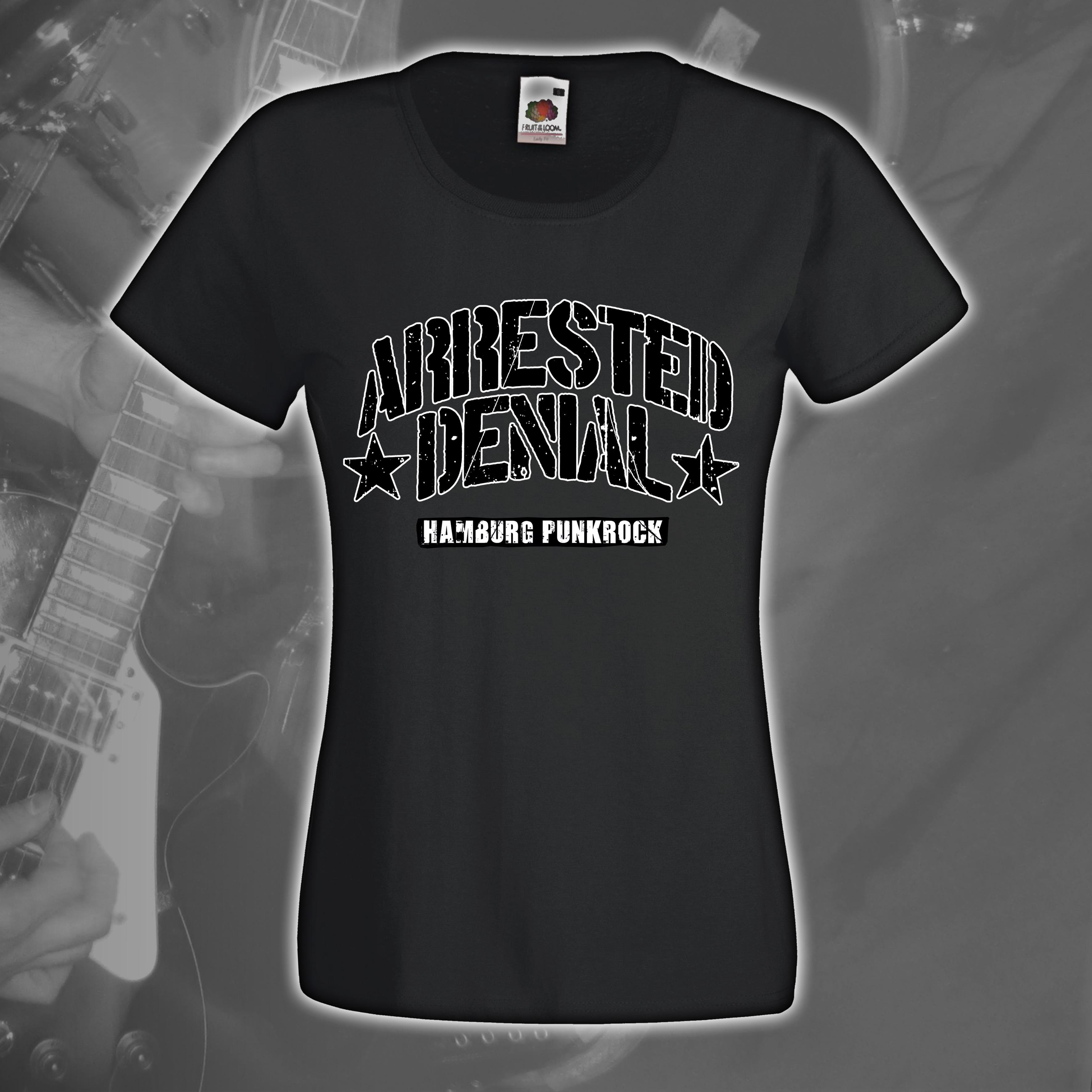 Girlie Shirt - AD Logo (Dark Grey)