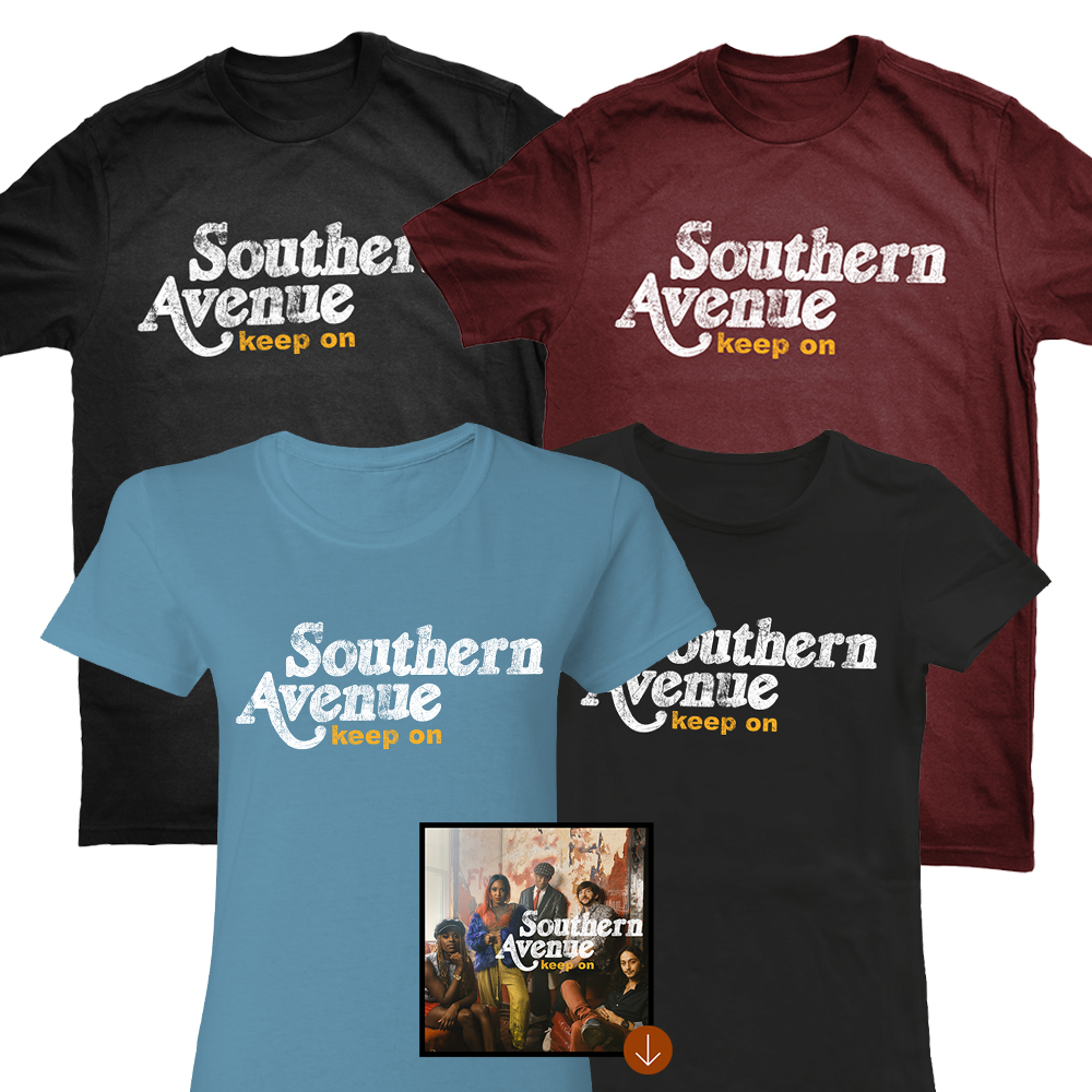 Cotton Tee Shirt + Album Download (Optional)