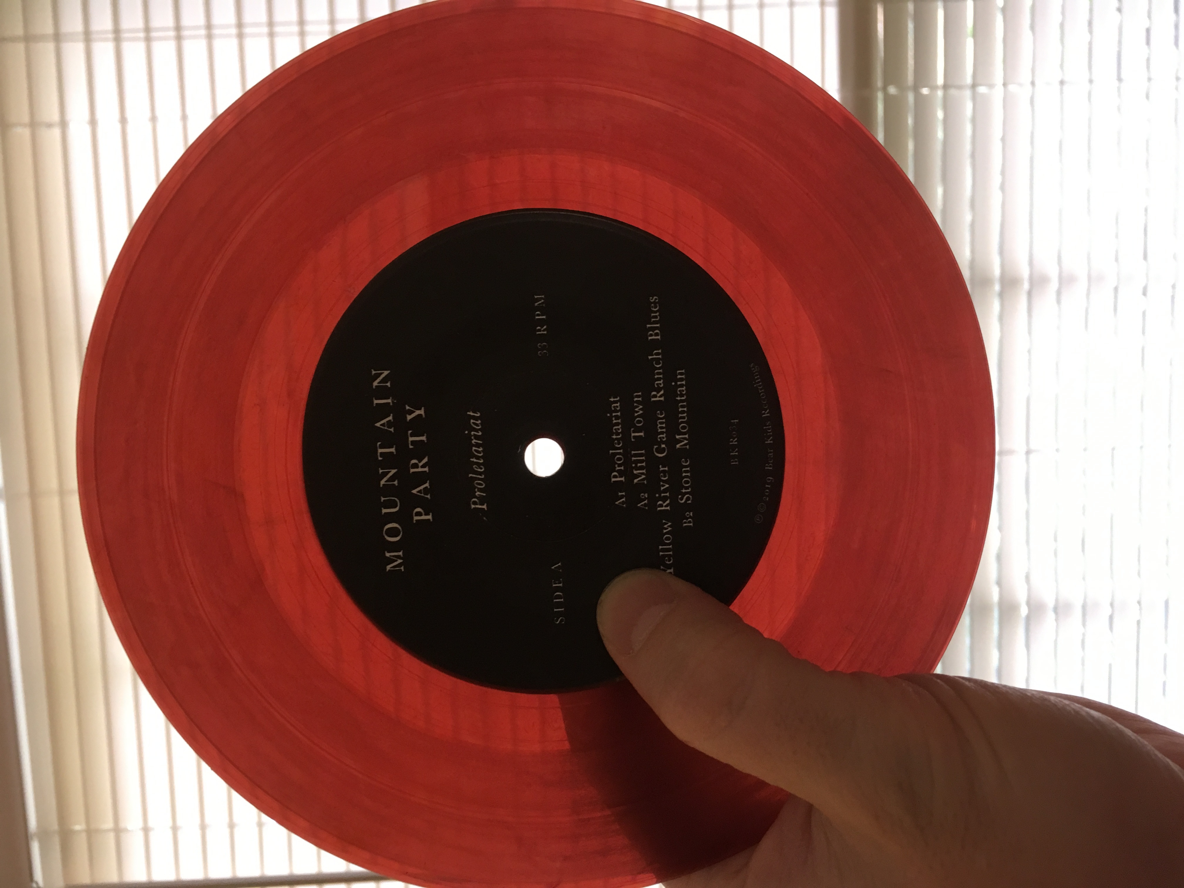 Mountain Party - Proletariat EP