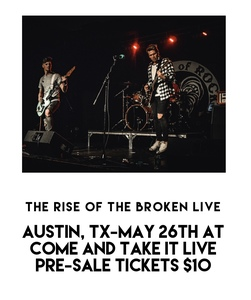Pre-Sale ticket for TROTB show at Come and Take It Live 5/26