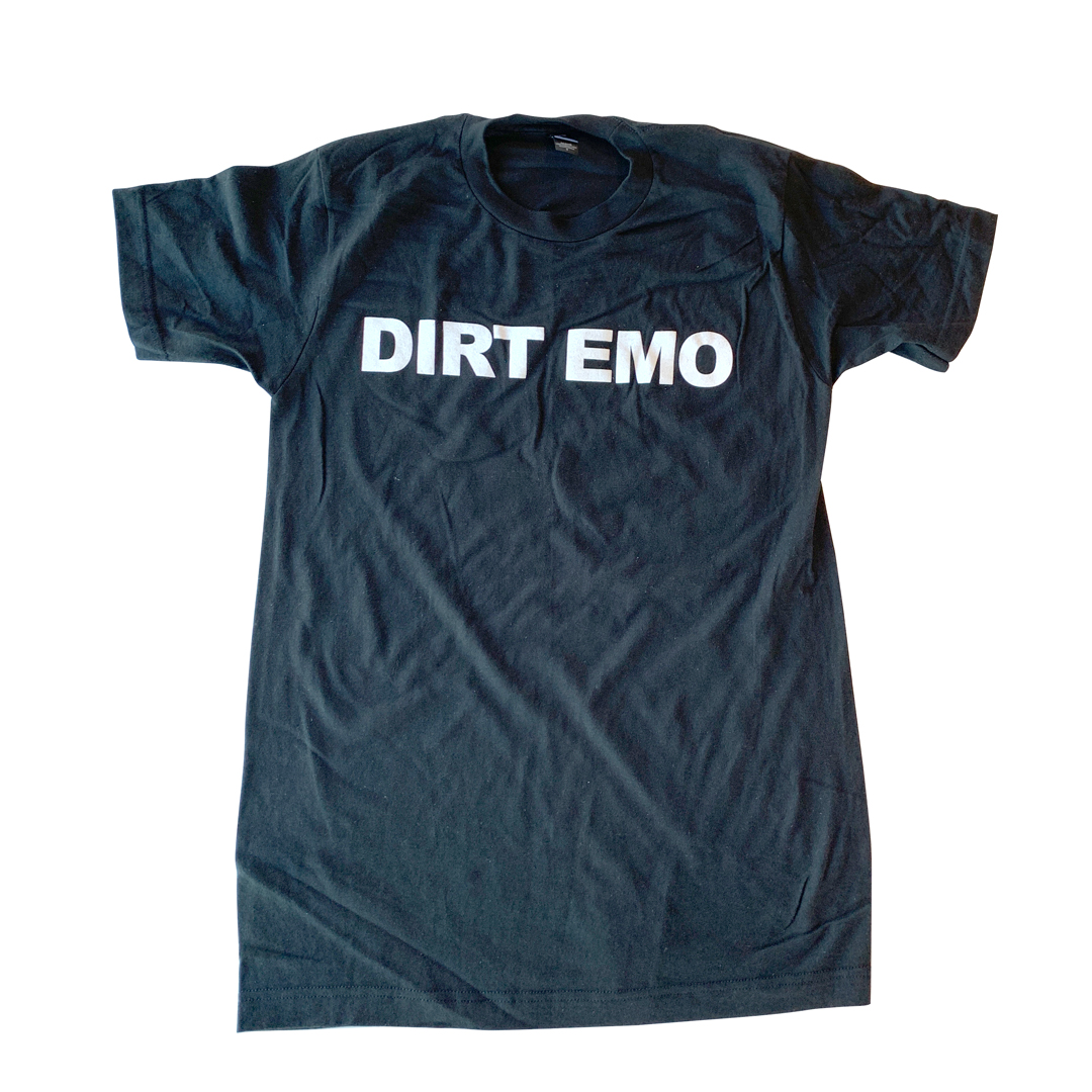 Dirt Emo Unisex Cotton Tee Shirt + Album Download (optional)