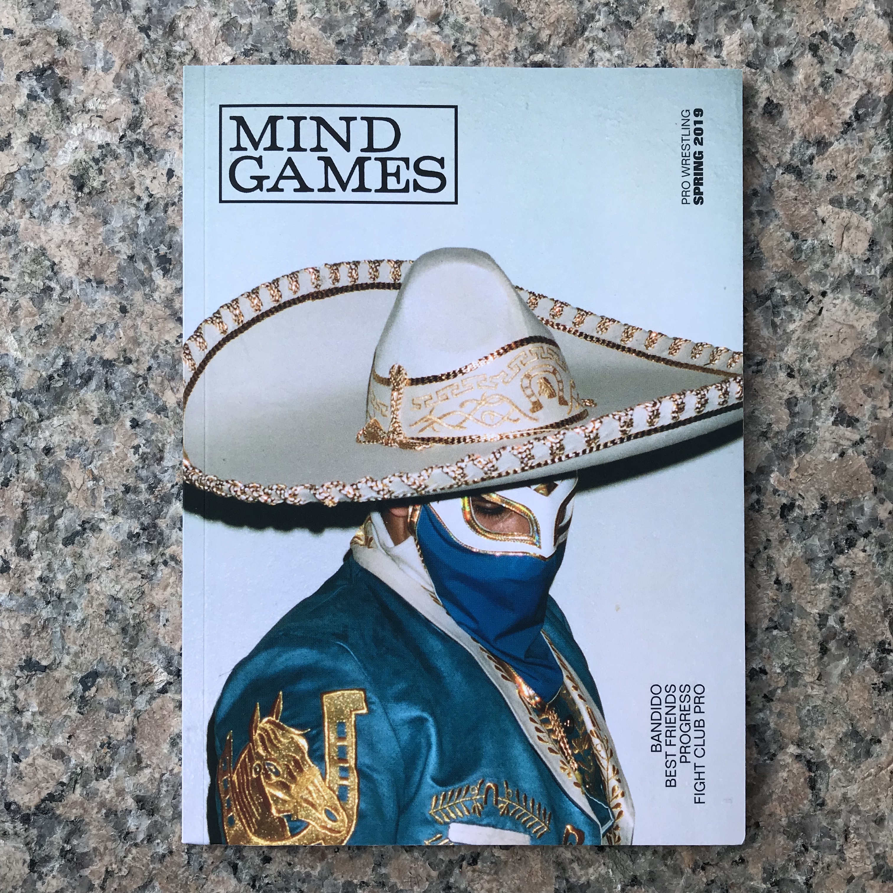 MIND GAMES Issue 1 - SOLD OUT