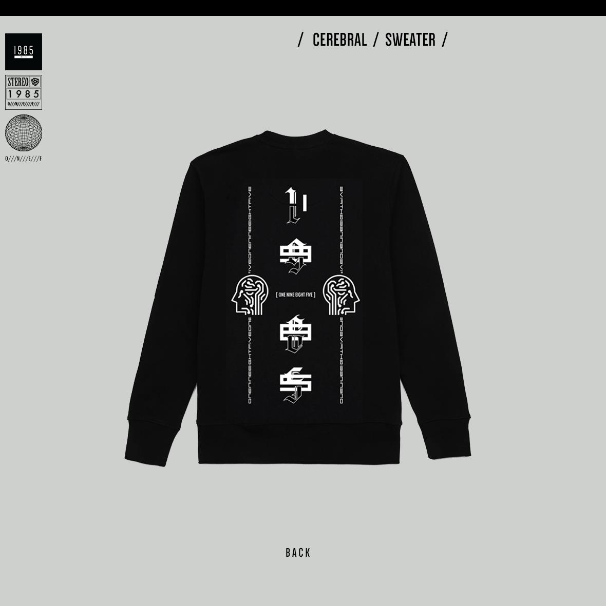 Cerebral Sweater (Crew Neck)